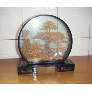 軟木雕 擺飾 (2)