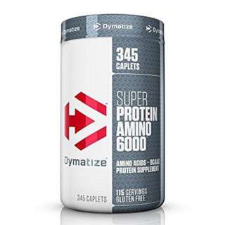 DYMATIZE SUPER AMINO (NEW PACKAGING) 345 CAPLETS - COD FREE SHIPPING
