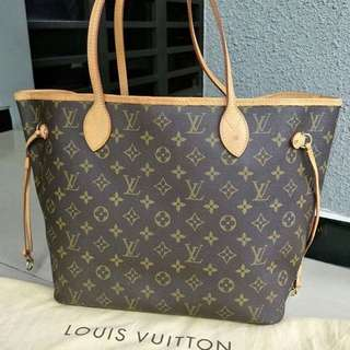 LV neverfull MM authentic from store!