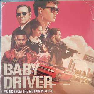 Baby Driver Soundtrack Double LP