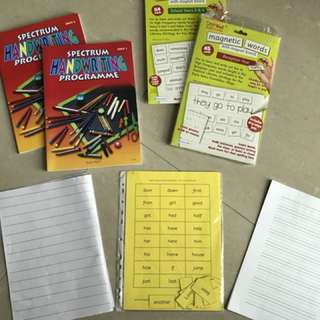 Handwriting and sight-words bundle