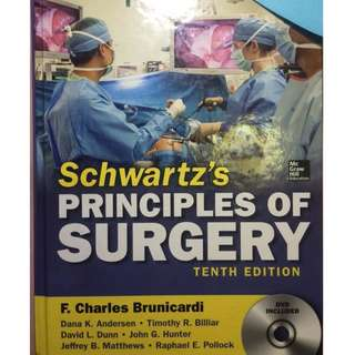 Schwartz's Principles of Surgery Tenth Edition