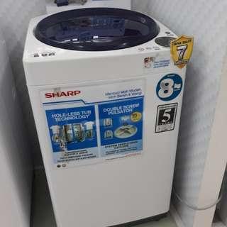 Mesin Cuci Sharp 1Tabung Cicilan Tanpa Kartu Credit