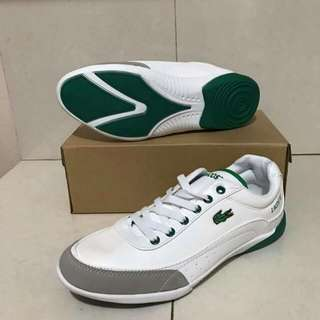 Lacoste shoes white