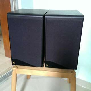 A Pair of KEF Coda 8 Speakers. Made in UK.