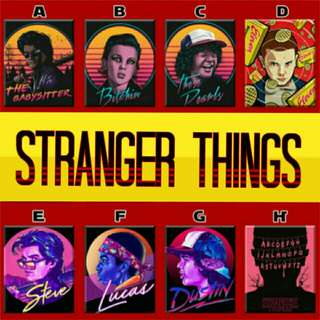 Stranger Things Artwork Poster Ref Magnet Display Collectible Souvenir Giveaway