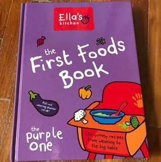 The first foods book by Ella's kitchen