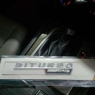 AMG BITURBO 車貼 1 Set