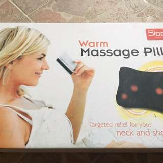 Electronic neck & back massage cushion