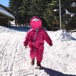 kids winter warm suit