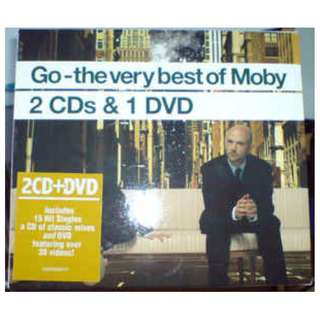 Moby ‎Go The Very Best Of Moby triple cd and dvd set