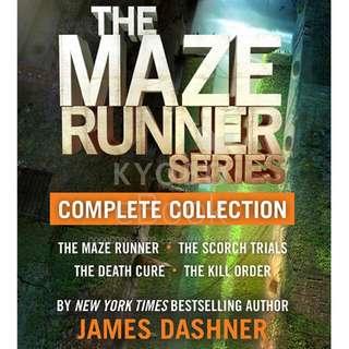 Paket Ebook Zip The Maze Runner 1-4