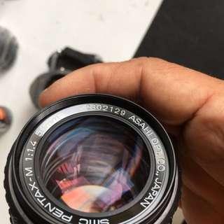 50mn 1.4 manual lens