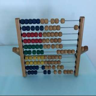 Wooden Counting Toy Education Learning