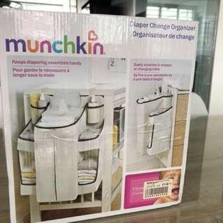 MUNCHKIN Diaper Change Organiser