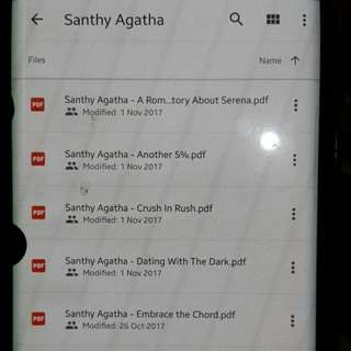 Ebook Santhy Agatha