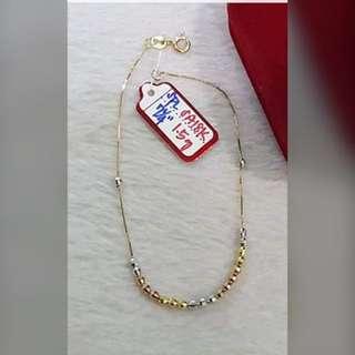 18K 750 Ladies Bracelet Genuine Gold