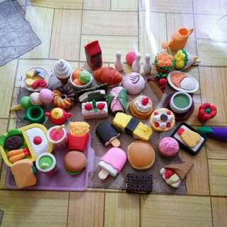 Collectibles Erasers