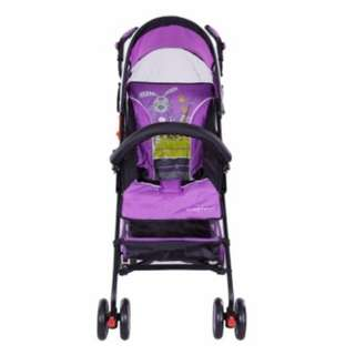 Sweet Heart Paris BG200 Stroller Buggy (Purple) with Back-Rest Reclining