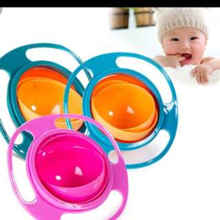 Baby and toddle 360 degree rotation bowl