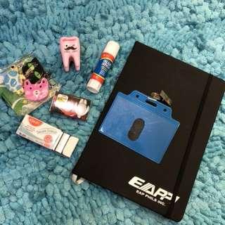 Assorted office school supplies