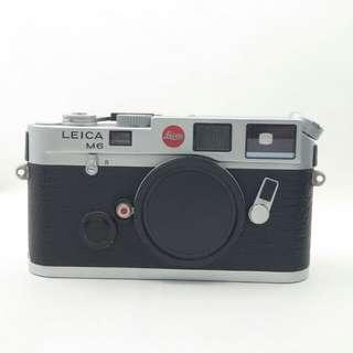 Leica M6 Classic Chrome
