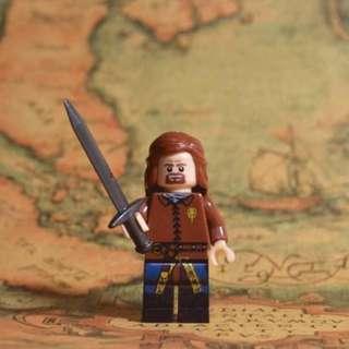 Eddard Ned Stark Game of Thrones Lego Like Blocks