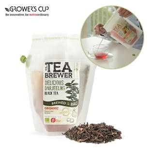 Grower's Cup The TeaBrewer - Delicious Darjeeling Organic 隨身茶包 戶外茶包 露營茶包 (有機大吉嶺紅茶)