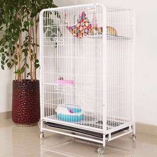 Pets Cage 3 Tier/ Cat Hostel - BNIB! (Pink Colour Out Of Stock)