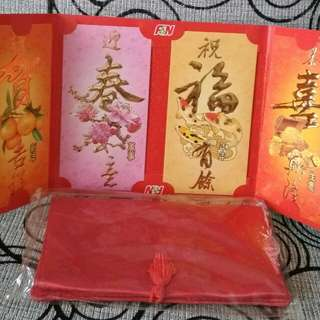 Red Packet(Limited release from F&N) with CNY pouch