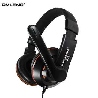 OVLENG X5頭戴式耳機連麥克風(電腦用)