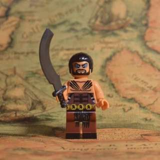 Khal Drogo  Game of Thrones Lego Like Blocks