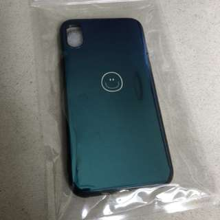 IPhone X 手機殼 笑臉 藍光面