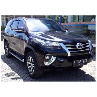 Fortuner VRZ	2016 AT HITAM METALIK