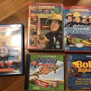 Fireman Sam & Thomas the Tank Engine DVDs