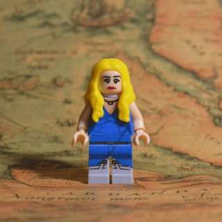 Danaerys Stormborn  Game of Thrones Lego Like Blocks