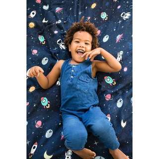Space Kiddet Tula Single Blanket IN STOCK