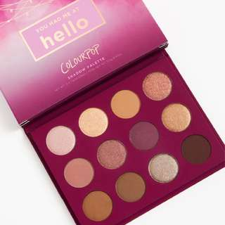 You Had Me at Hello Colourpop Palette