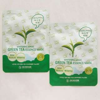 Green Tea Whitening Mask