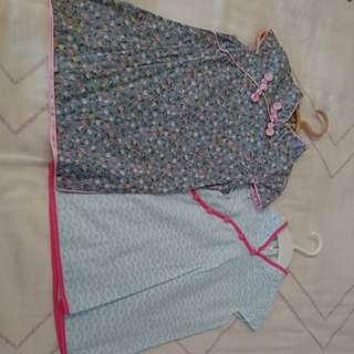 Cheongsum Chinese traditional dress for 1 -2yo