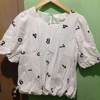 Number themed top