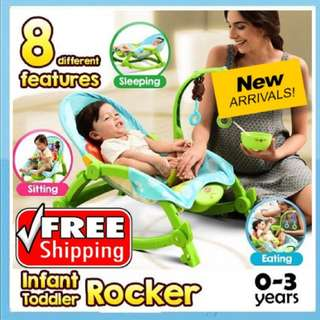 (FREE SHIPPING)Baby throne new born/toddler rocker