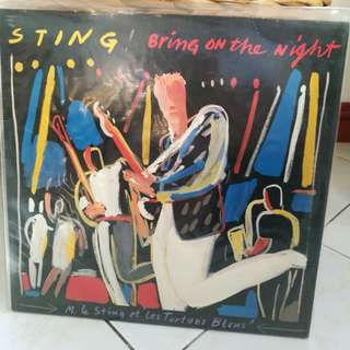 STING BRING ON THE NIGHT LIVE NM
