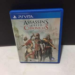 PS Vita Assassins Creed Chronicles Game