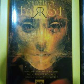 Very HARD TO FIND 20th Anniversary Vertigo Tarot Deck Set