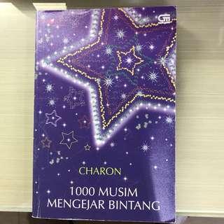 Novel 1000 Musim mengejar bintang