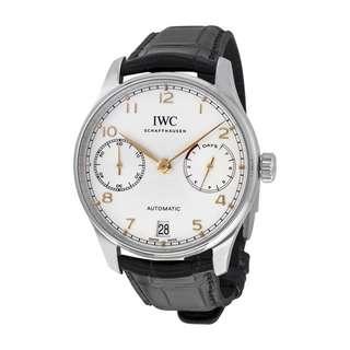 IWC IW500704 PORTUGIESER AUTOMATIC 萬國葡萄牙系列自動腕錶 500704 全新無帶