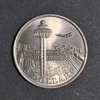 Singapore 1981  $5 UNC