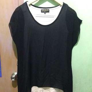 Black dress/top