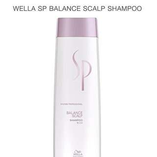 Instock!! 1000% Authentic Brand New Wella SP (System Professional) Balance Scalp/Anti Hair Loss Shampoo For Sensitive And Oily Scalp